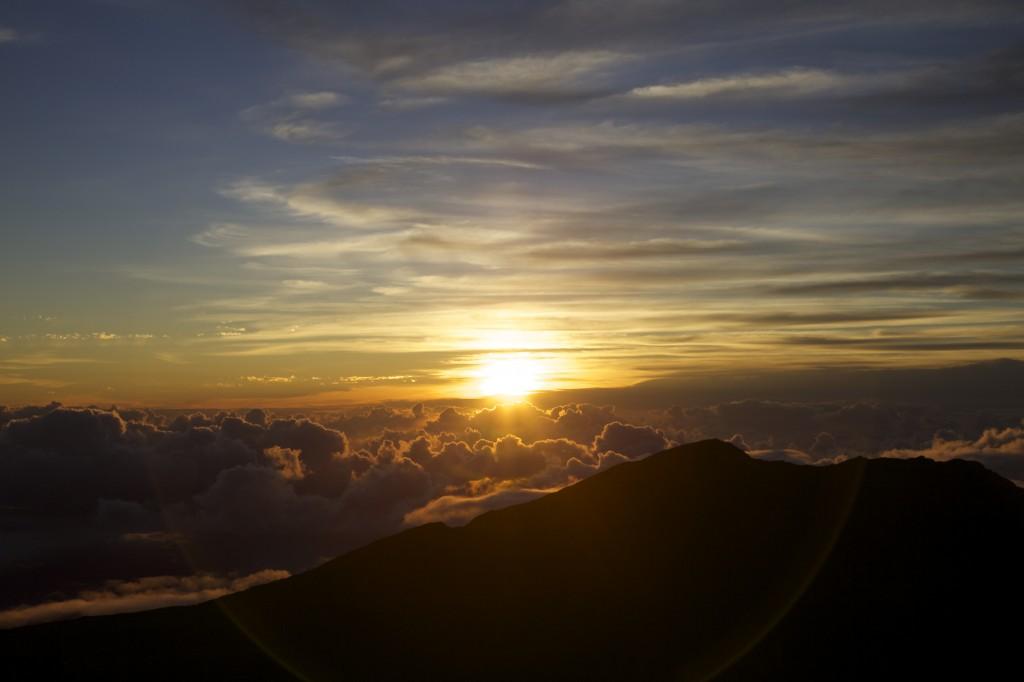 Haleakalā National Park, Maui, HI. Photo taken July 8, 2014.