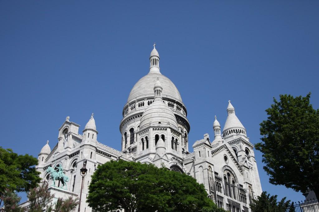 Sacré-Cœur - Paris, FR. Photo taken May 2012. © blissandradiance.com