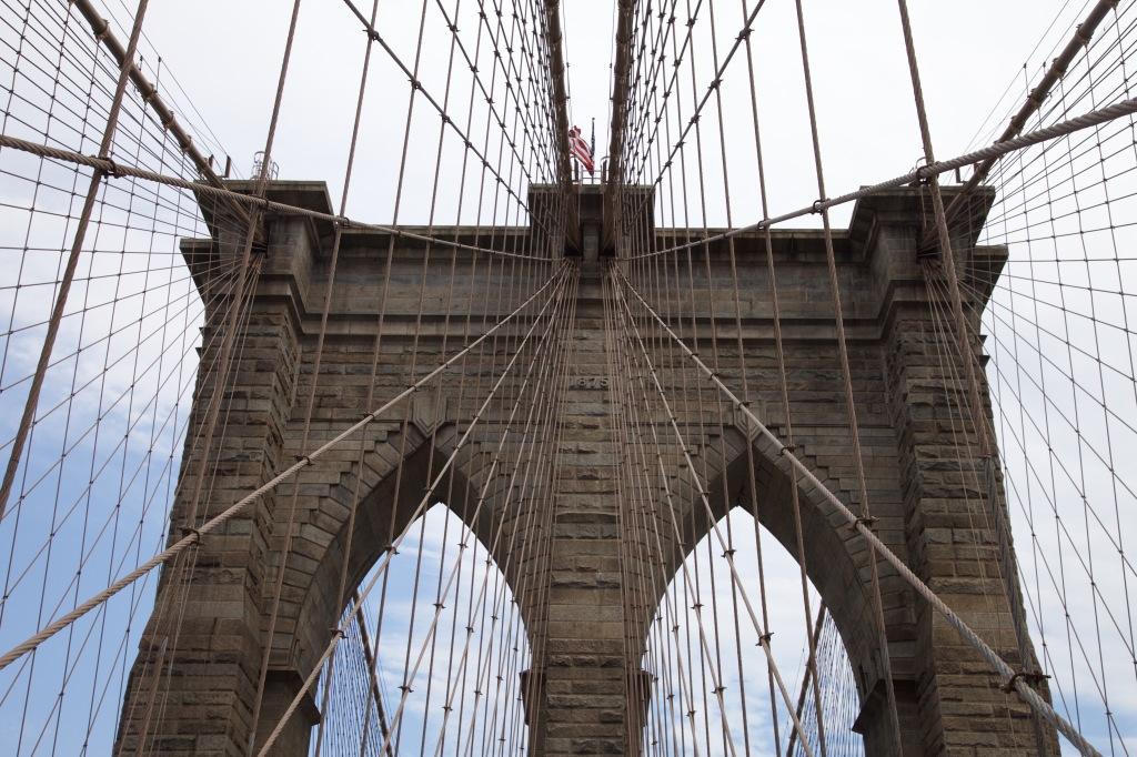 The Brooklyn Bridge. New York City, NY. Photo taken June 2015. © blissandradiance.com